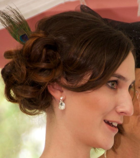 Mobile Wedding Hairdresser And Makeup Artist Berkshire Wedding - Classic vintage hairstyle