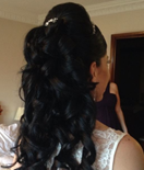 Half Up, Half Down Wedding Hairstyles
