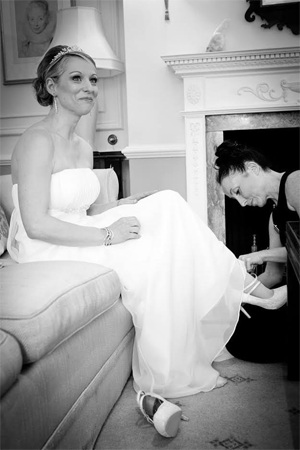 Big Day Hair and Makeup Bride